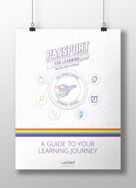 Passport For Learning Poster